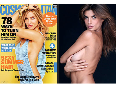 Elisabetta Canalis, Cameron Diaz Naked Pictures for PETA