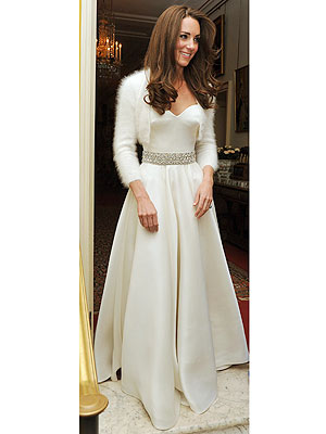 Catherine Middleton Wears Second Wedding Dress | Royal Wedding, Kate Middleton