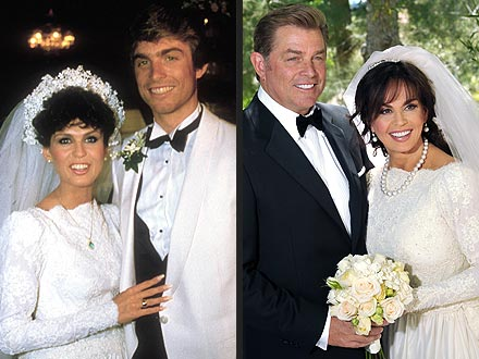 vu marie osmond remarried husband wednesday dress wore 30 years