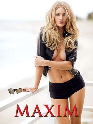 Rosie Huntington- Whiteley Tops Maxim&#39;s Hot 100 List