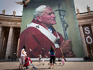 Pope John Paul II Beatified In Rome