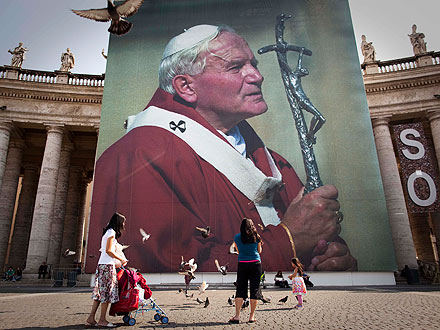 Pope John Paul II Beatified In Rome