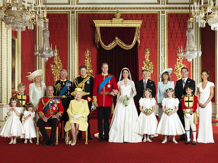 Official Royal Wedding Portraits Revealed | Royal Wedding, Kate Middleton, Prince William