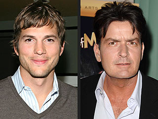 Ashton Kutcher - Charlie Sheen Reacts to Two and Half Men Casting