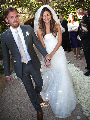 Kings of Leon's Caleb Followill Marries Model Lily Aldridge | Caleb Followill, Lily Aldridge