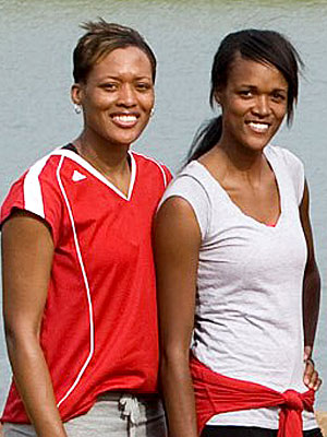 Amazing Race Champs Kisha and Jen Hoffman: Winning Is Awesome