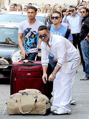 pics of jersey shore cast in italy. Jersey Shore Cast Takes Italy