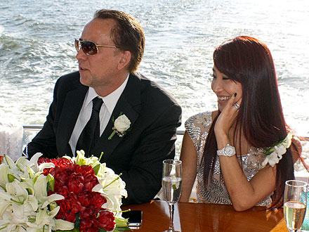 Nicolas Cage Celebrates His Son's Wedding – on a Yacht!| Weddings, Nicolas Cage