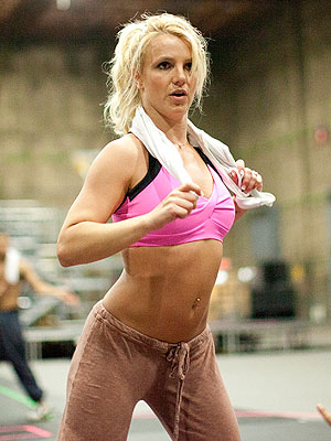 Britney Spears sporting Bravada Athletic Wear