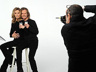 PHOTO: William H. Macy and Felicity Huffman Pose Together for Milk Ad | Felicity Huffman