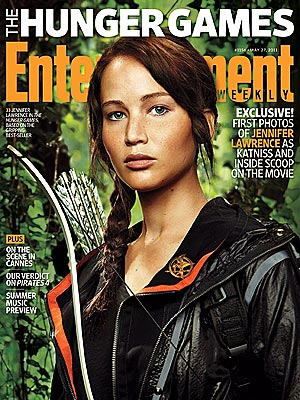 FIRST LOOK: Jennifer Lawrence As Hunger Games Heroine Katniss | Jennifer Lawrence
