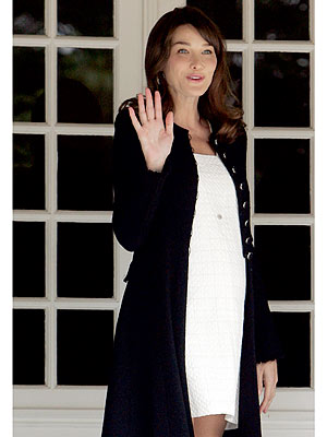 Carla Bruni-Sarkozy Is Officially Pregnant