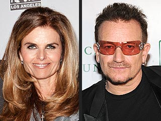 Maria Shriver Gets Support From Pal Bono | Bono, Maria Shriver