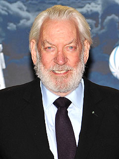 Donald Sutherland Elected as Hunger Games President | Donald Sutherland