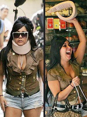 Snooki's Neck Brace Just a Joke, MTV Says