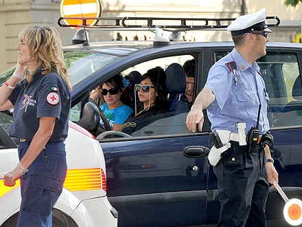 Snooki Hits Police Car Escort in Italy | Jersey Shore, Deena Cortese, Nicole Polizzi