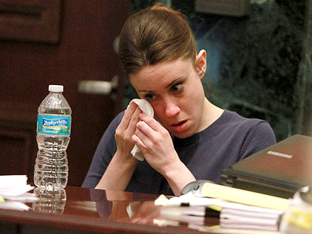Casey Anthony Breaks Down During Court