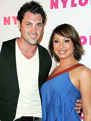 Maksim Chmerkovskiy and Cheryl Burke Are Not Dating