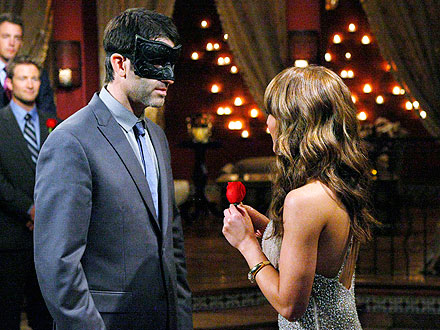 The Bachelorette's Masked Man: The Mask Was a Joke ... with Meaning