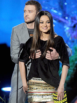 Mila Kunis, Justin Timberlake at MTV Movie Awards