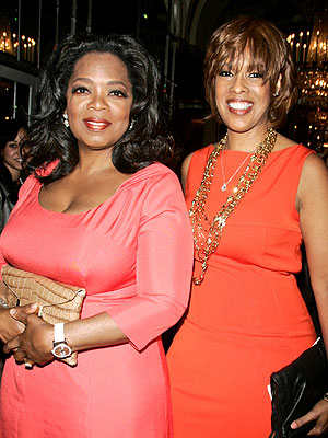 Oprah Winfrey in London on Vacation