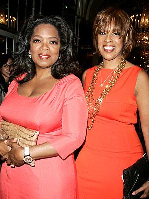 Oprah Winfrey in London on Vacation