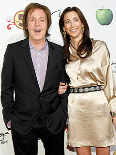 Paul McCartney and Nancy Shevell Celebrate Love