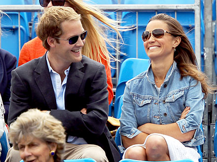 Pippa Middleton and George Percy at Tennis