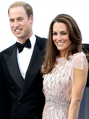 Prince William and Kate Middleton's Glamorous Night Out