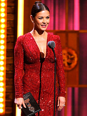 Catherine Zeta-Jones Sparkles at Tony Awards | Catherine Zeta-Jones