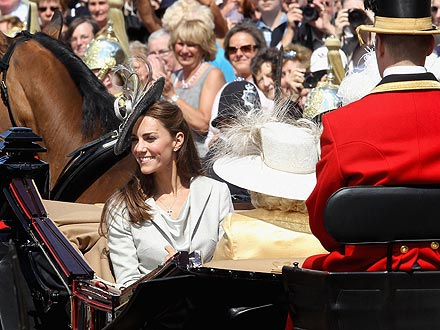 Kate Charms the Crowds – with Help from Camilla
