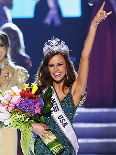Alyssa Campanella of California Crowned Miss USA
