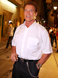 Arnold Schwarzenegger: The Boy 'Started Looking Like Me'