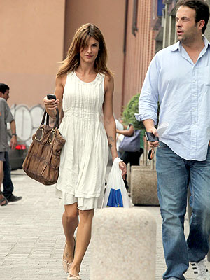 Elisabetta Canalis Gets Retail Therapy After George Clooney Breakup