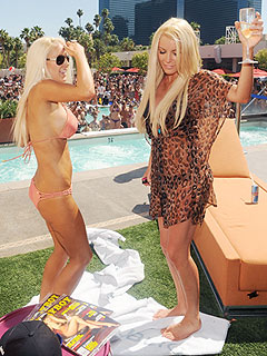 Heidi Montag Parties with Crystal Harris in Las Vegas