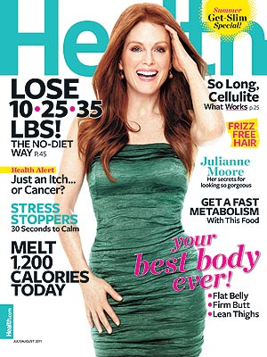 Julianne Moore Talks to Health Magazine