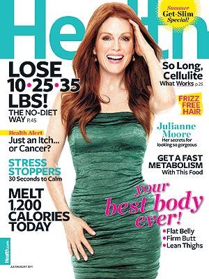 Julianne Moore Talks to Health Magazine