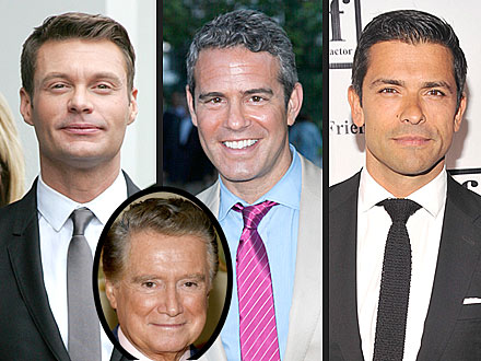 Ryan Seacrest, Andy Cohen or Mark Consuelos May Replace Regis Philbin