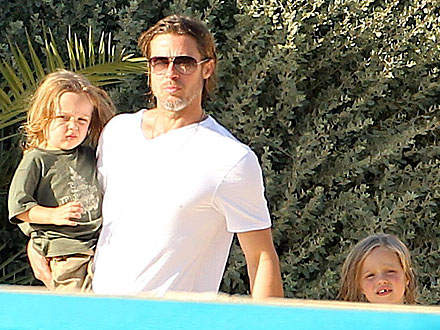 The Jolie-Pitt Family's Close Encounter – with Dolphins| Angelina Jolie, Brad Pitt