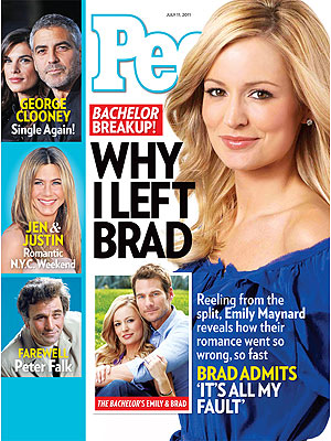 The Bachelor's Emily Maynard and Brad Womack Split