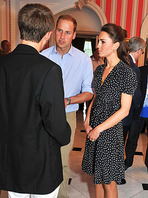 Kate Wears Issa for First Night Out in Canada | Kate Middleton, Prince William