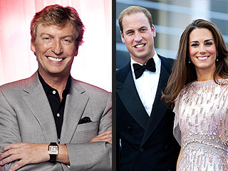Nigel Lythgoe Preps for Royal Visit BAFTA Event | Kate Middleton, Nigel Lythgoe, Prince William