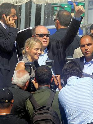 Prince Albert Charlene Wittstock 39s Wedding Is On Despite Rumors