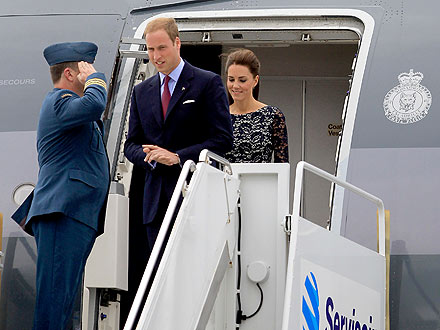 Prince William & Kate Arrive in Canada| The Royals, Kate Middleton, Prince William