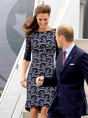Prince William & Kate Arrive in Canada