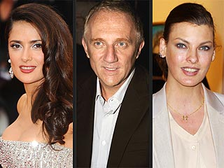Salma Hayek's Husband Is the Father of Linda Evangelista's Son | Henri Pinault, Linda Evangelista, Salma Hayek