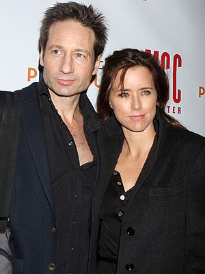 David Duchovny and Téa Leoni Separate