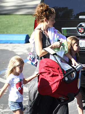 PHOTO: Denise Richards Out with Her Three Little Ladies | Denise Richards