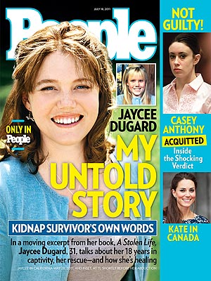NEW PHOTO: Jaycee Dugard Tells Her Story of Kidnap and Abuse