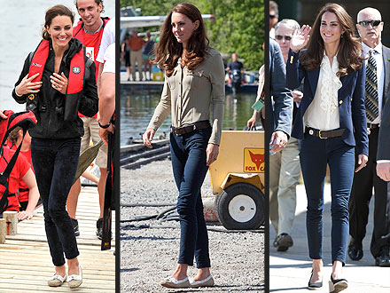 kate middleton 01 440 Kate Wears the Same Jeans   Three Times!